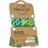 PARA'KITO Refillable Mosquito Wristband - Graphic Edition