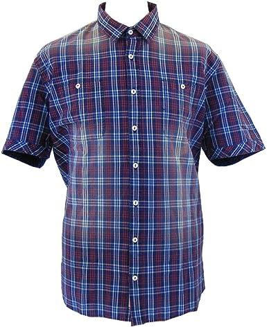 Pioneer - Camisa Casual - Cuadrados - Clásico - para Hombre ...