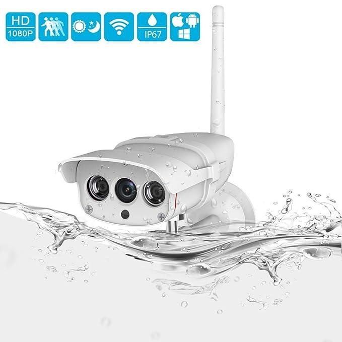 20 opinioni per INKERSCOOP 1080P Videocamera di Sicurezza Esterna IP67 Senza Fili IP67