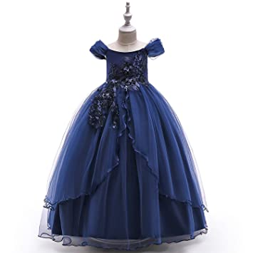 XCXDX Vestido De Princesa De Tul con Un Solo Hombro, Vestido ...