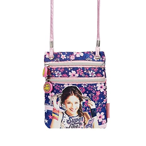 Amazon.com | Disney Soy Luna Superlike Action mini shoulder bag | Messenger Bags