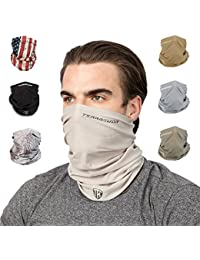 Face Clothing Neck Gaiter Mask – Non Slip Light Breathable for Sun Wind Dust Bandana Balaclava
