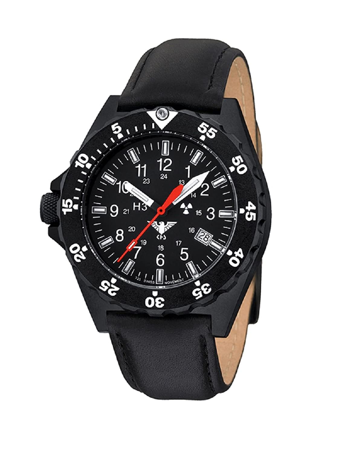 KHS Shooter KHS.SH.L Lederband inkl. Watch-Glass-Protection Schutzfolie