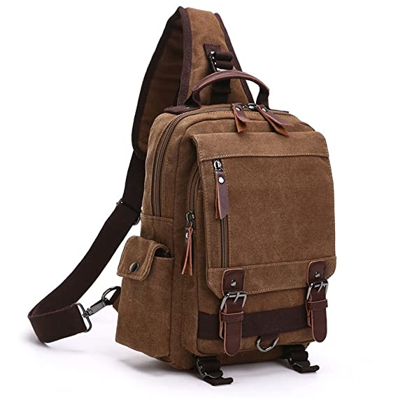 Minetom Lona Backpack Mochilas Escolares Mochila Escolar Casual Bolsa Viaje Moda Bolso De Bandolera Sencillo Unisex