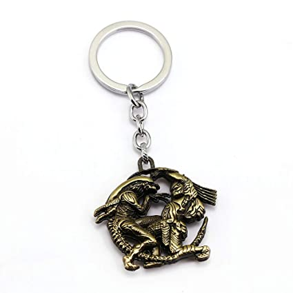 Mct12 - Alien Predator Keychain Movie Key Ring Key Holder ...