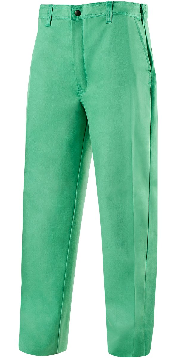 38 Waist 30 Inseam 38/'/' Waist 30 Inseam 10312-3830 Weldlite Green 9.5-Ounce Flame Retardant Cotton Steiner 103-3830 Long Pants