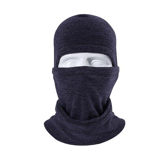 93aa108d899 Image Unavailable. Image not available for. Color  zeabon Balaclava Fleece  Hood Ski Mask ...
