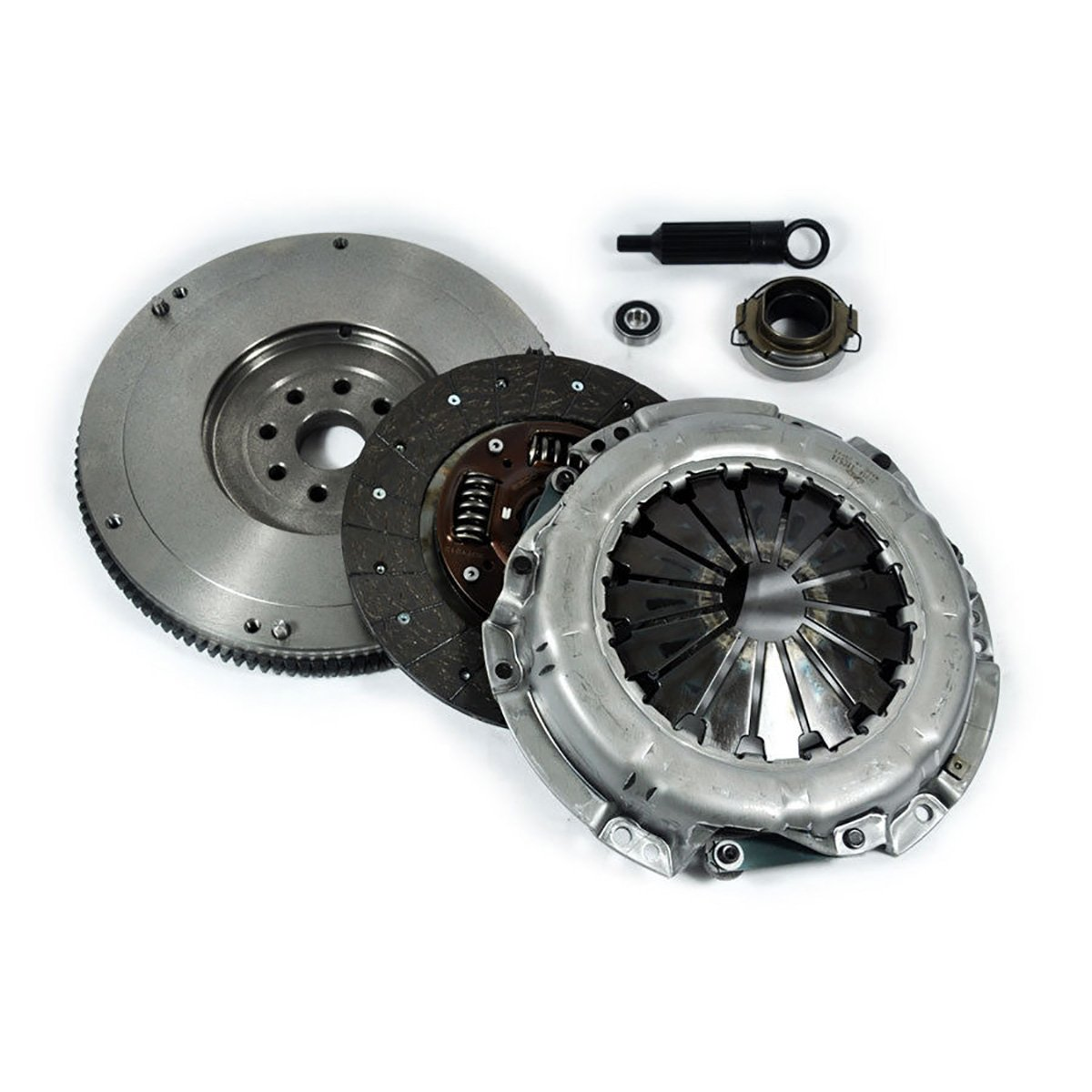 EFT RACING HD CLUTCH KIT+FLYWHEEL 88-95 4RUNNER PICKUP 2WD 4WD T100 2WD 3.0L EFORTISSIMO