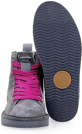 Luxury Fashion   Pànchic Mujer P01W14002S3A00004 Gris Zapatillas Altas   Otoño-Invierno 19