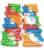 Play Day Mini Water Guns (12 Pack, Colors Vary)