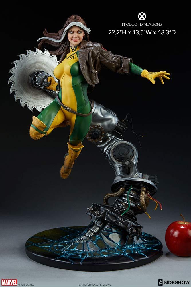 Amazon.com: Sideshow Marvel Comics X-Men Rogue - Estatua de ...