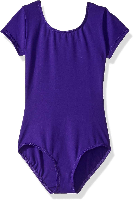 Capezio girls Team Basic Short Sleeve Leotard