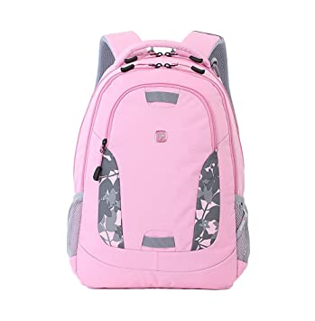 Swiss Gear Pink Backpack Click Backpacks