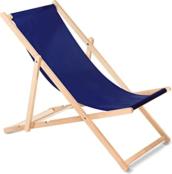 Green Blue Liegestuhl Sonnenliege Klappbar Aus Buchholz Ohne Armlehne Sonnenliege Gartenliege Liege Marineblau Amazon De Kuche Haushalt