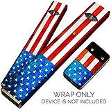 vape pen starter kit with pen - Juul Skin For JUUL Starter Kit - Protective Sticker for JUUL Pods Juul Charger - JUUL VAPE Pen Cover Kit - American Flag