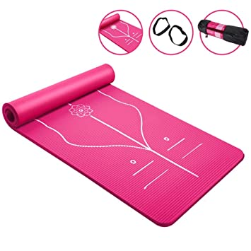 Amazon.com: DLJFU - Esterilla de yoga para principiantes ...