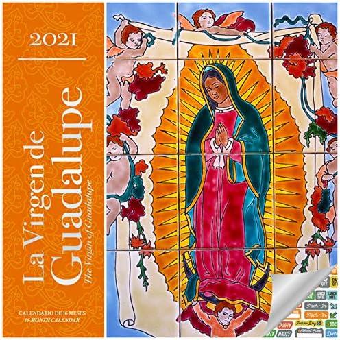Amazon.: La Virgen de Guadalupe Calendar 2021 Bundle   Deluxe