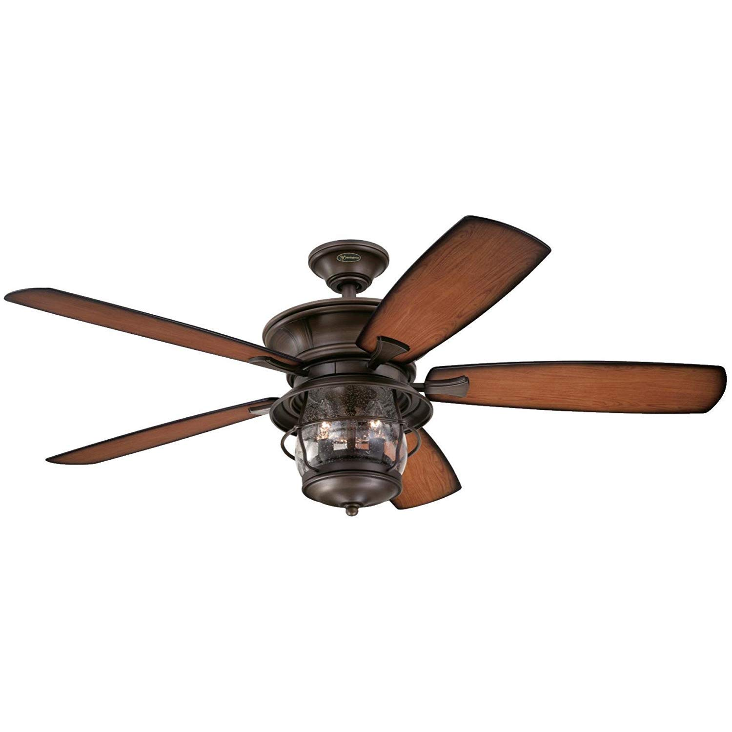 Westinghouse Lighting 7204300 Indoor Outdoor Ceiling Fan Oil Rubbed Bronze Finish 52