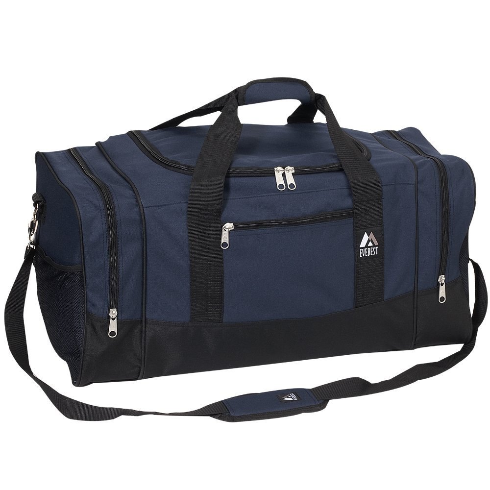 Everest Crossover Duffel Bag, Dark Purple, One Size EVFDS 020-DPL/BK