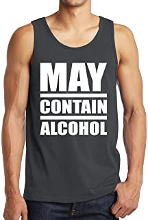 47f7a58b16dd2 StreetViewTees May Contain Alcohol Tank Tops -Funny Graphic Drinking Shirts