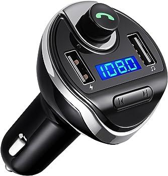 AMIR Criacr Bluetooth FM Transmitter for Car