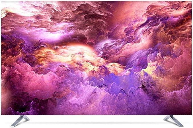 YXZN Cubiertas para el Polvo de la TV Superficie de la Mesa Colgante de LCD Televisor Universal Cubierta Protectora Protector Solar Impermeable,Red,75: Amazon.es: Hogar