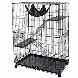 Amazon Com 35x22x51 Inches Large Rectangle Cat Pets