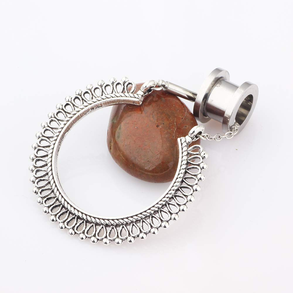 Amazon.com: Tianci FBYJS - dilatadores de oreja de acero ...