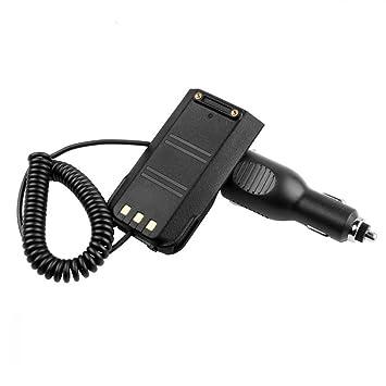 SODIAL Cargador de Coche Eliminador de bateria para TYT TY MD-380 GPS MD380GPS: Amazon.es: Coche y moto