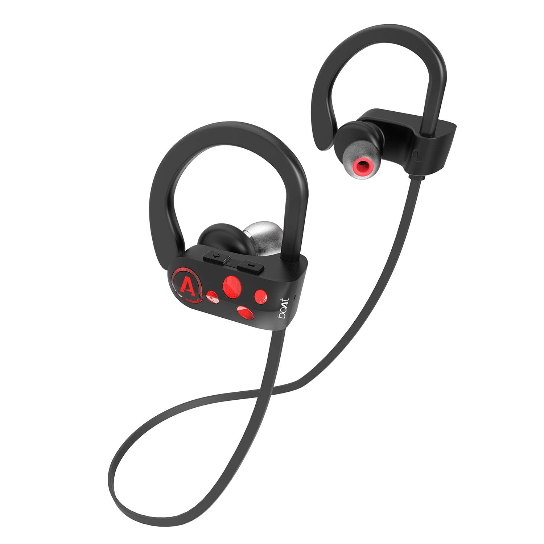 boAt Rockerz 261 Wireless Earphones (Raging Red)