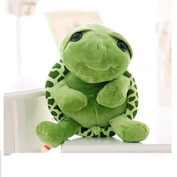 YeahiBaby Tortuga Verde Juguete de Peluche Muñeco de Peluche Suave Kawaii Tortuga Tummy Doll Cojín Almohada 30cm: Amazon.es: Juguetes y juegos