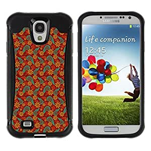 Travers-Diy FlareStar Colour Printing cute flower Heavy Duty Armor Shockproof Cover Rugged case cover fC0FhCRTR4k for SAMSUNG Galaxy S4 IV / i9500 / i9515 / /