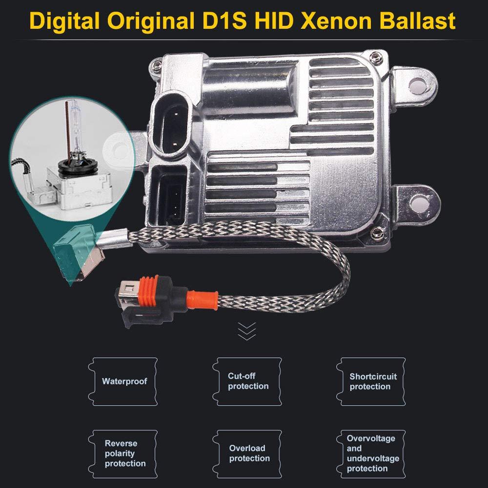 Single HSUN Digital Canbus D2S Slim Xenon Ballast,35W Canbus Error Free 1 Pcs