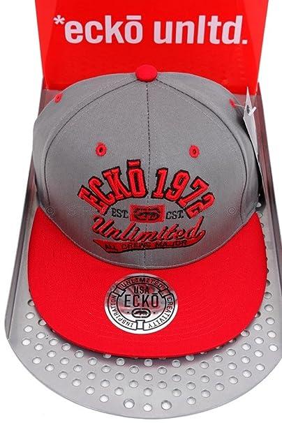 Gorra de béisbol de Ecko Unltd, con el texto «Unlimited All Crews ...