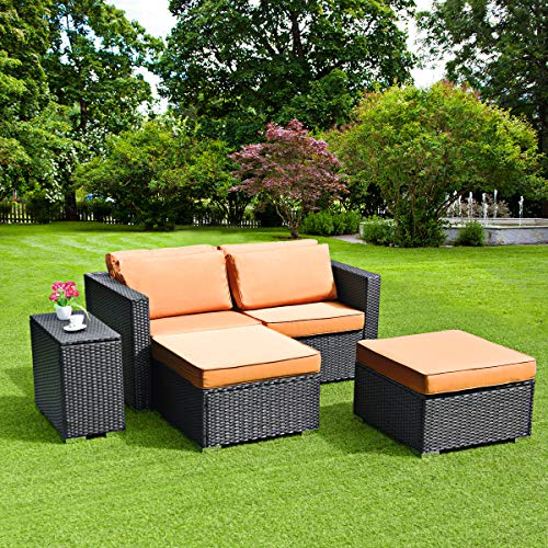 wicker outdoor daybed - 3