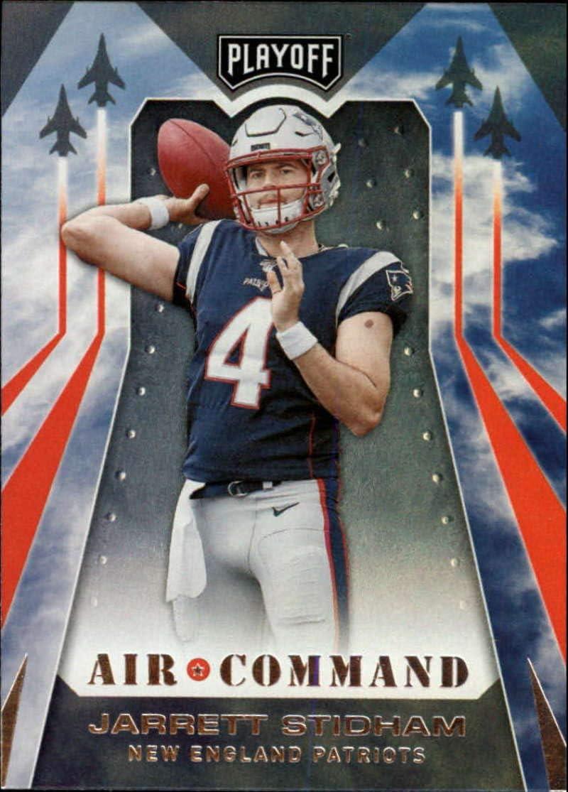 Amazon Com 2019 Playoff Air Command Football 5 Jarrett Stidham New England Patriots Official Panini Nfl Trading Card Collectibles Fine Art