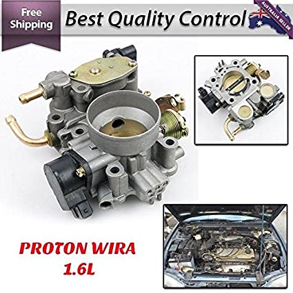 Amazon com: Throttle Body Fit Proton Wira 1 6 1 8 16V SOHC EFi Idle