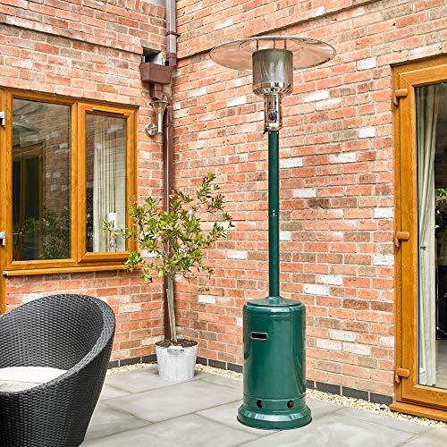 Kingfisher PHEATER1 Garden Outdoor Gas Patio Heater - Green