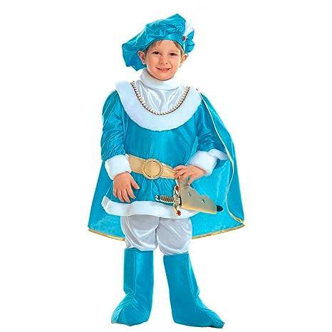traje Vestido traje disfraz de carnaval Niño Príncipe Azul ...
