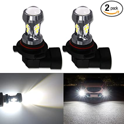 Hsun 9005 Hb3 Led Bulbs 16leds Smd3030 Chipsets 3200 Lumens Extremely Bright For Car Led Fog Light Bulbs Lamp Daytime Running Light And More 2