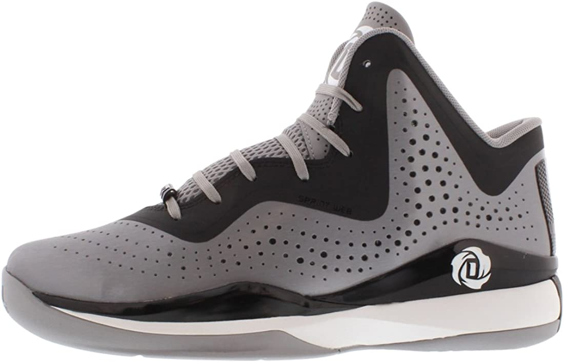 Adidas D Rose 773 Iii Herren-Basketball-Schuh 11 Aluminium-schwarz-weiÃ? Aluminium Schwarz Weiß