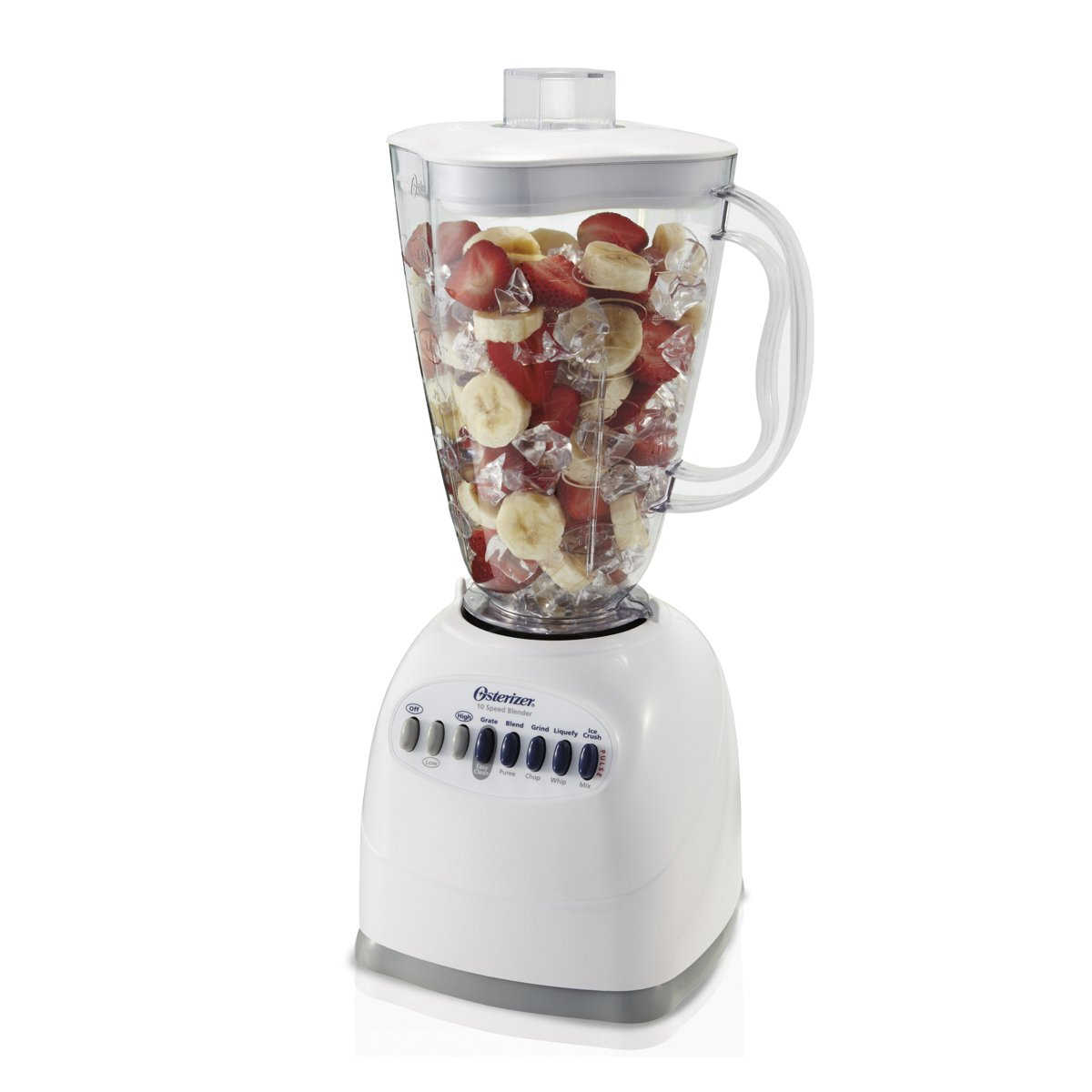 OSTER 6640-022–NP1 6640 ampndashNP1 10-Speed Blender with Plastic Jar, 48 Ounce White