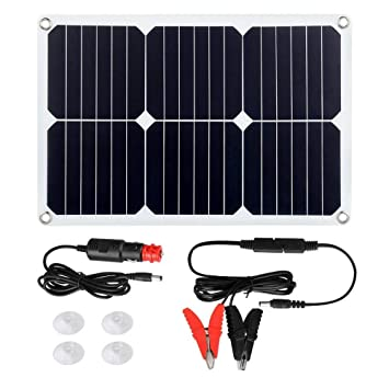 El Panel Solar Flexible Portátil 20W Cargador Solar Del ...