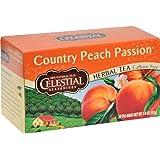 Celestial Seasonings Herbal Tea - Country P Passion - Caffeine Free - 20 Bags (Pack of 6)