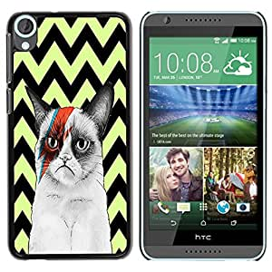 Dragon Case - FOR HTC Desire 820 - Success is a relative term - Caja protectora de pl??stico duro de la cubierta Dise?¡Ào Slim Fit