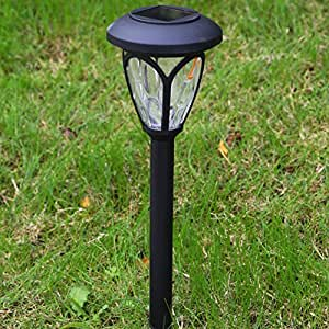 Solar Garden Lights Outdoor Decorations Home Decor Stakes Yard Decorative Stake Light Deal of The Day Prime Today Sogrand Warm White LED Bright Waterproof Lantern For Outside Landscape Pathway 6Pack