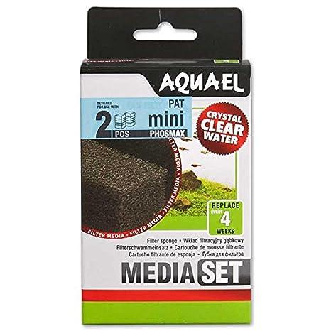AquaEl - Filtro de esponja para acuario (recambio para el filtro Patmini)