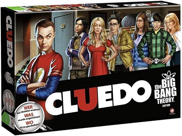 Monsterzeug The Big Bang Theory Juego, Cluedo The Big Bang Theory, Cluedo Juego, Big Bang Theory