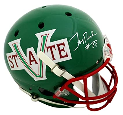 0347b53a030 Image Unavailable. Image not available for. Color  Jerry Rice Signed  Mississippi Valley State Delta Devils Schutt Full Size NCAA Helmet -  Autographed ...