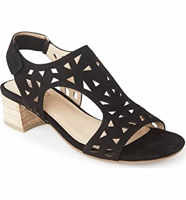 4e643bb4eb2 Me Too Women s Madelyn Suede Slingback Sandals (5.5 M